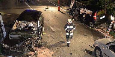 Tote nach schwerem Unfall mit Reh in Tirol