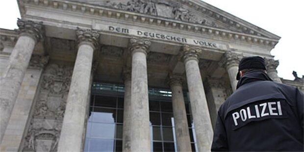 Reichstag wird Hochsicherheitszone
