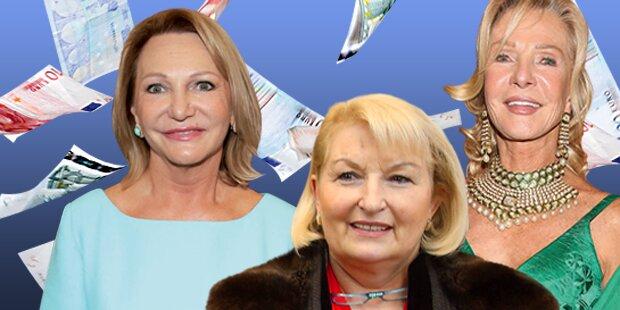 Das sind die reichsten Frauen Österreichs