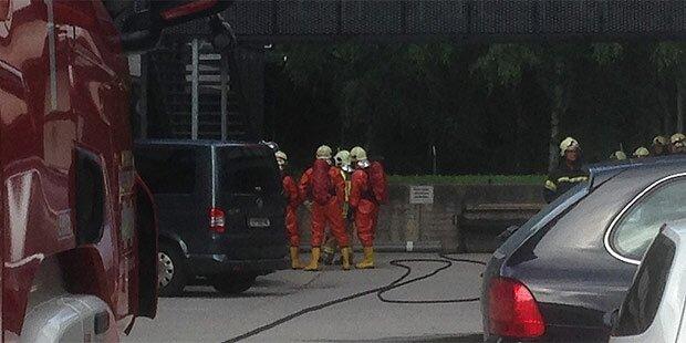 Ammoniak-Austritt an TU Innsbruck