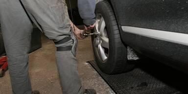 Große Preisunterschiede beim Reifenwechsel
