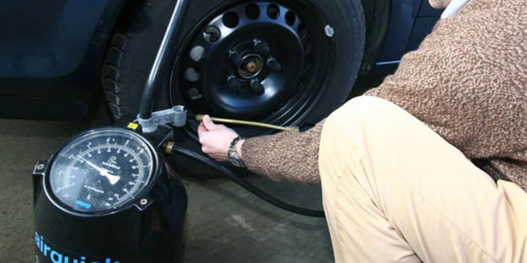 Vorsicht: Hitze kann Reifendruck verändern