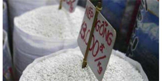 Notmaßnahmen gegen Reisknappheit in Asien