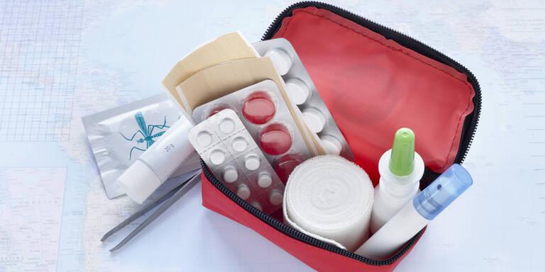 Reiseapotheke: Das sollten Sie einpacken