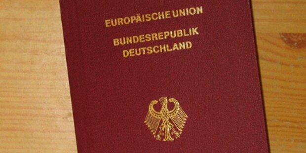 Ansturm auf deutsche Reisepässe