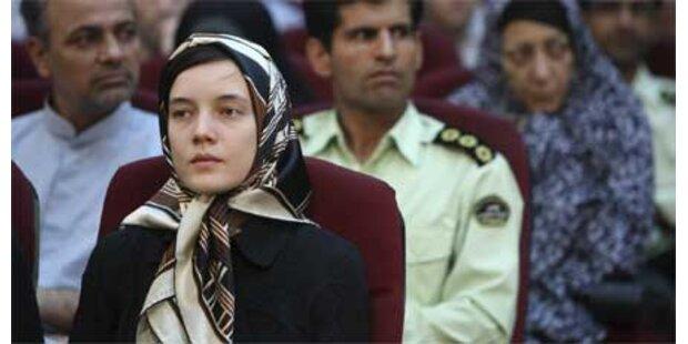 Im Iran inhaftierte Französin Reiss frei