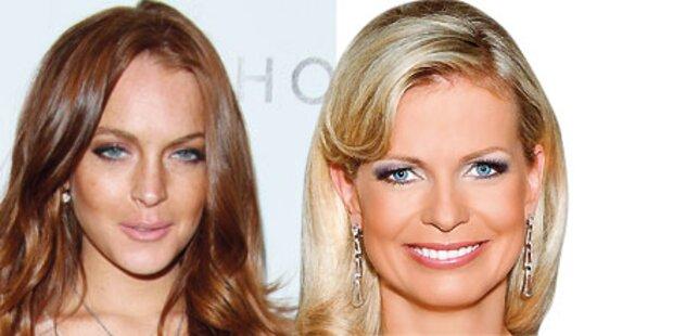 Reiterer statt Haider bei Lindsay Lohan
