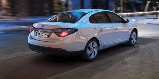 Alle Infos vom E-Auto Renault Fluence Z.E.