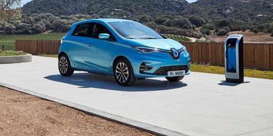 Renault Zoe geht weg wie warme Semmeln