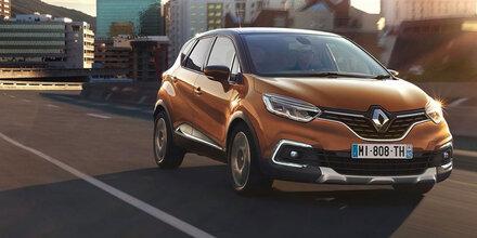 Renault verpasst dem Captur ein Facelift