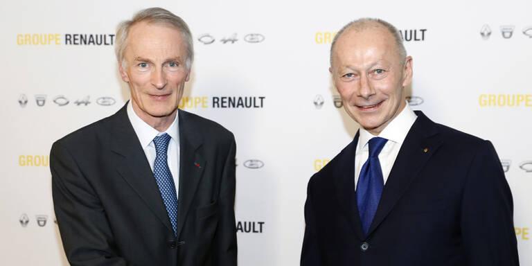 Das sind die neuen Renault-Chefs