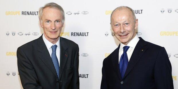 Duo bildet die neue Renault-Führung