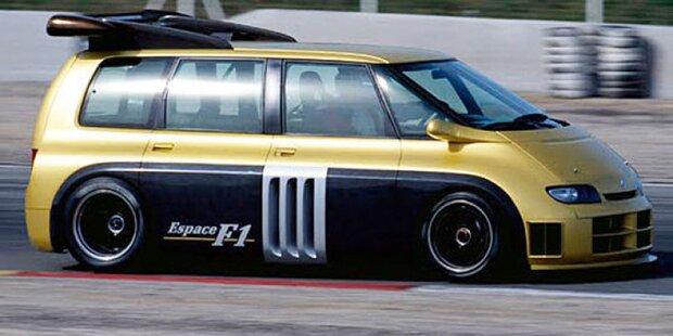 Espace mit 810 PS starkem Formel-1-Motor