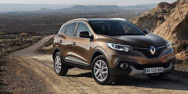 """Renault bringt Kadjar & Captur als """"4Austria"""""""