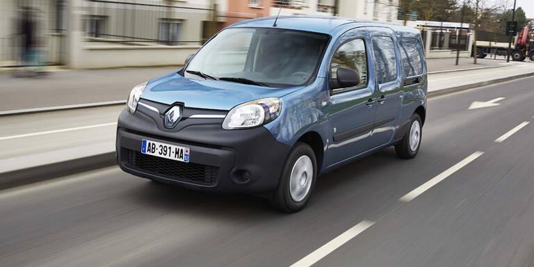 Renault rüstet den Kangoo Z.E. auf