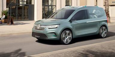 Renault bringt völlig neuen Kangoo