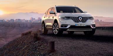 Mini-Facelift für den Renault Koleos