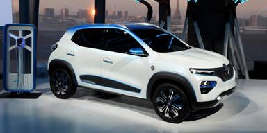 Renault zeigt elektrisches Mini-SUV