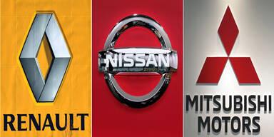 Allianz von Renault, Nissan & Mitsubishi hält
