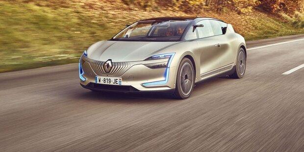 Renault testet sein Auto der Zukunft