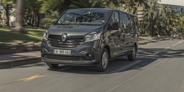 Neuer Top-Trafic greift den VW Multivan an