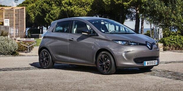 Renault ZOE ist beliebtestes Elektroauto