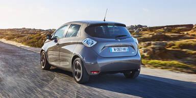 Renault bei Elektroautos Nr.1 in Europa