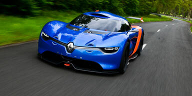 Renault zeigt Studie Alpine A110-50
