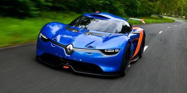 Renaults Sportwagen nimmt Formen an