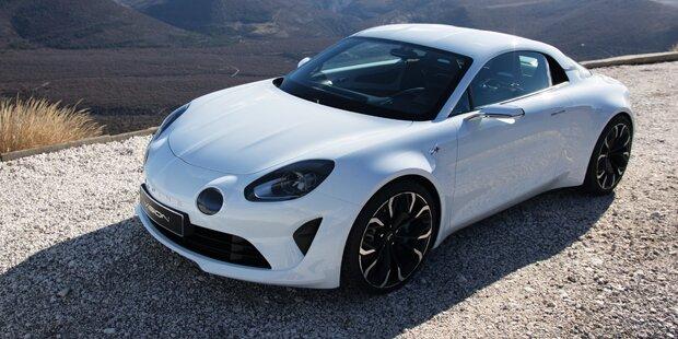 So scharf wird die neue Renault Alpine