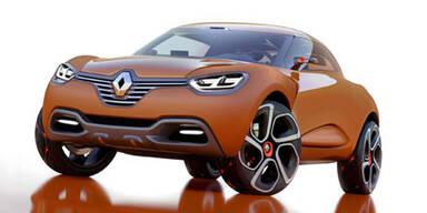 Conceptcar Renault Captur in Genf 2011