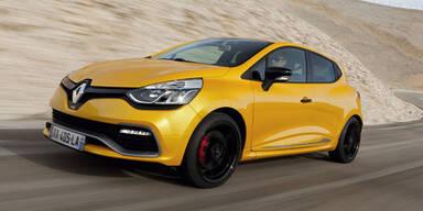 Start für den neuen Renault Clio R.S.