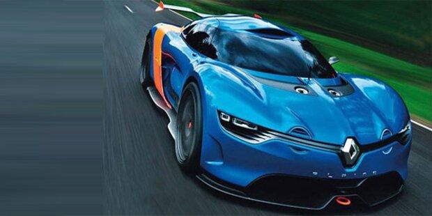 So scharf wird der neue Renault Alpine