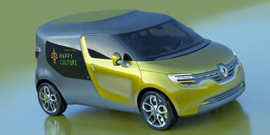 Weltpremiere des Renault Frendzy
