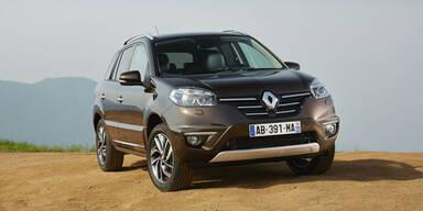 Renault verpasst dem Koleos ein Facelift