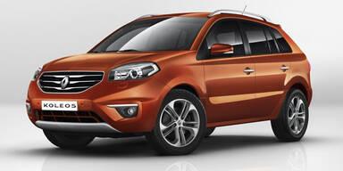 Facelift für den Renault Koleos