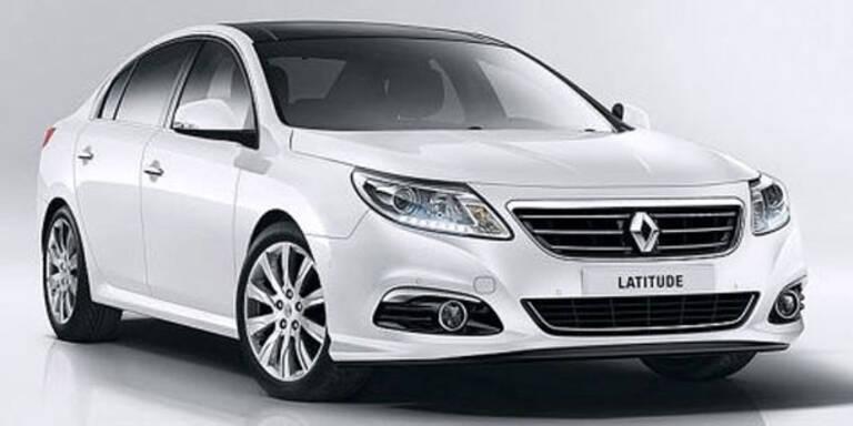 Dezentes Facelift für den Renault Latitude