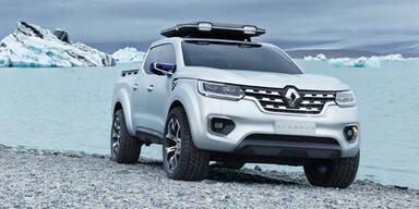 Renault greift mit coolem Pick-up an