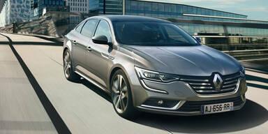 Renault Talisman greift VW Passat an
