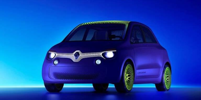 Renault Twin´Z - das Stadtauto der Zukunft