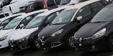 Renault ruft 15.800 Autos zurück