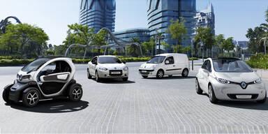 Renaults E-Autos kommen jetzt nach Wien