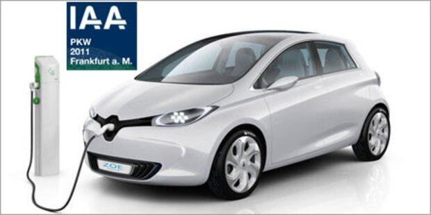 IAA 2011 mit Schwerpunkt Elektromobilität