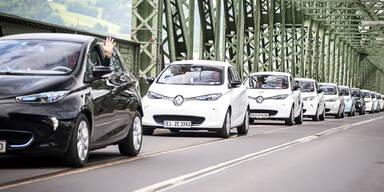 Renault ist bei E-Autos die Nummer 1