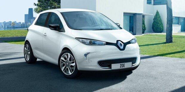 Serienversion des Renault Zoe vorgestellt