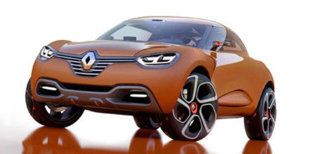 Conceptcar Renault Captur