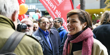 Rendi-Wagner wirbt für Frauen-Volksbegehren