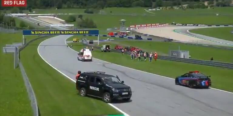 Moto2 Unfall