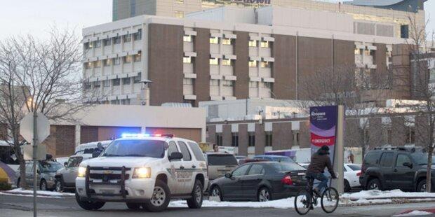 Zwei Tote bei Schießerei in Krankenhaus