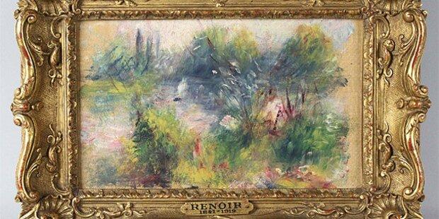 Flohmarkt-Renoir war gestohlen
